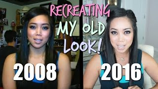 RECREATING MY OLD LOOK CHALLENGE! - itsjudytime