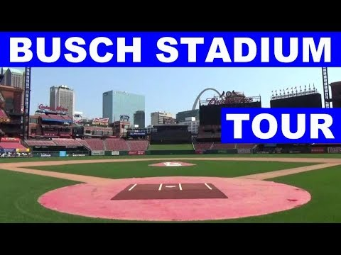 St. Louis Cardinals Busch Stadium Guided Walking Tour Of Dugout Broadcast Booth Field Redbird Roost