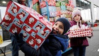 Aktion: Weihnachtspäckchen für Kinder in Not
