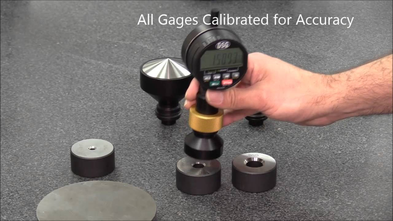 how to use chamfer gage