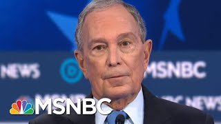 Unprepared, Unequipped Mike Bloomberg Makes First Debate Appearance | Morning Joe | MSNBC