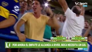 ¡BOCA CAMPEÓN DE LA SUPERLIGA ARGENTINA! (GOL Y ÚLTIMOS MINUTOS DOMINGOL)