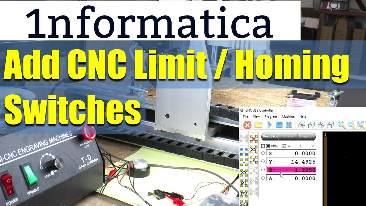 Adding CNC Limit & Homing Switches Tutorial CNC3040 on 3 wire cable, 3 wire light, 3 wire stepper motor, 3 wire power supply, 6 wire limit switch, 4 wire limit switch, 1 wire limit switch, 3 wire load cell, 3 wire push button, 3 wire circuit breaker, 3 wire terminal block, 3 wire junction box, 3 wire control,