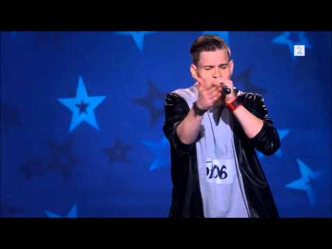Patrick Jørgensen KUN Rappen Norske Talenter (Million Questions)