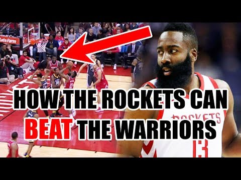 The ONLY Way The Rockets Can BEAT The Warriors In The NBA Playoffs