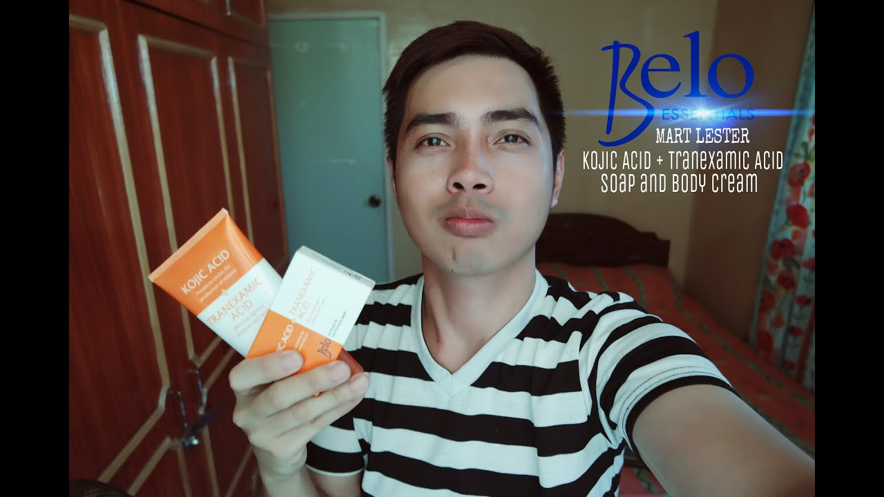 Belo Kojic Acid and Tranexamic Acid Soap and Body Cream Review