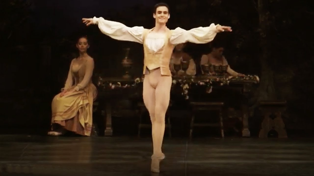 Swan Lake: Daniel McCormick, Peasant pas de trois (extract) | English National Ballet