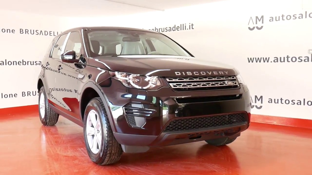 land rover discovery sport pure 2.0 td4 150 cv 4wd - km zero - youtube