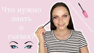 Что нужно знать для правильного макияжа глаз Изучаем строение глаз