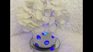 Light-up vase DIY (Bath &Body Works) Wedding Decor