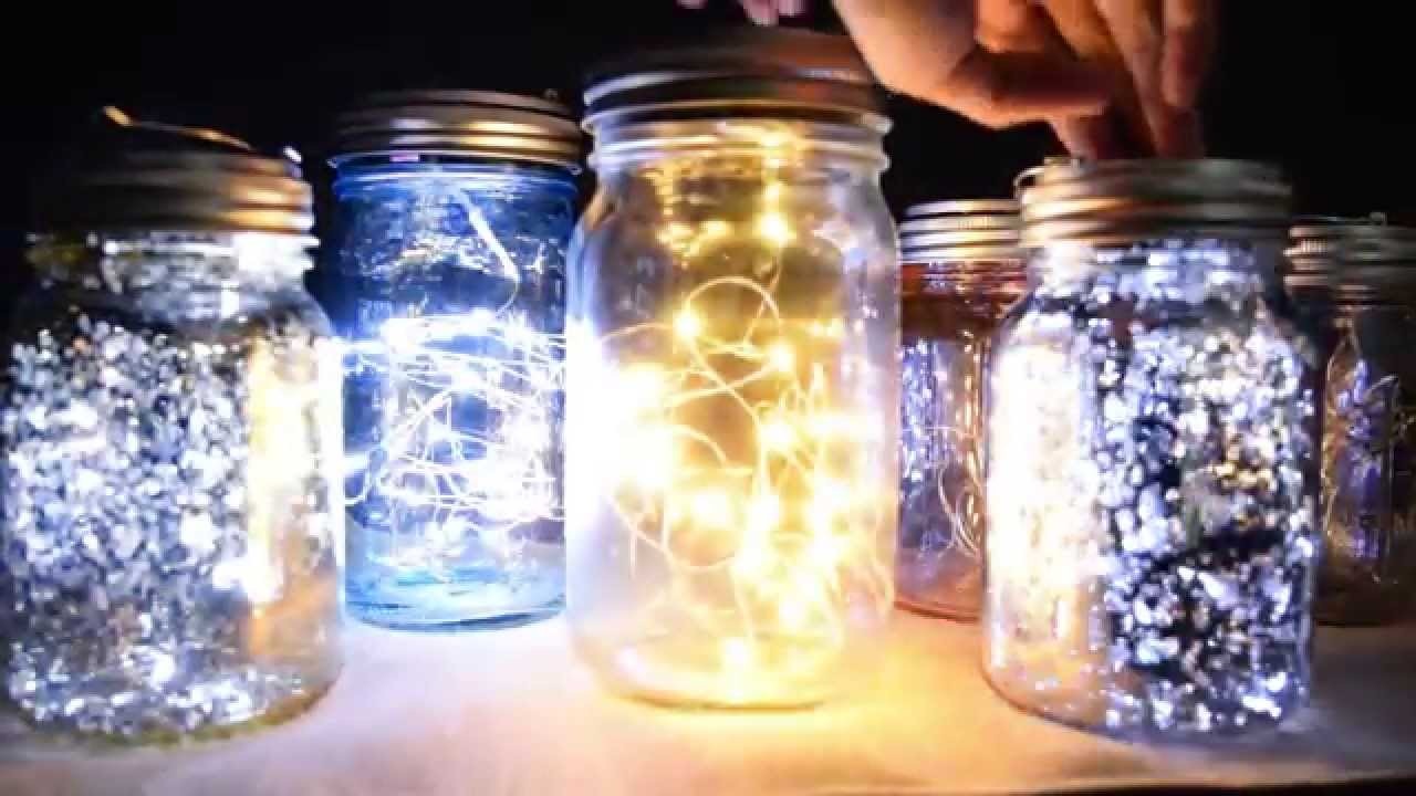 How To Do Your Own Mason Jar Lights YouTube