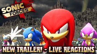 Sonic Forces NEW TRAILER & STAGES - LIVE REACTIONS w/Cobanermani456 thumbnail
