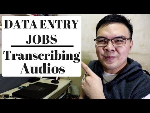 Online Data Entry Transcription Job Earn 2.33$ / 10min Audio on GoTranscript Philippines 2018