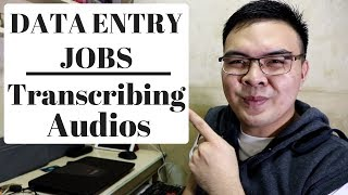 Online Data Entry Transcription Job Earn 2.33$ / 10min Audio on GoTranscript Philippines 2018