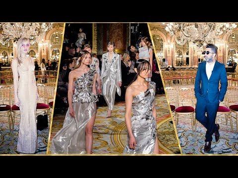 O glamour da moda russa no inverno 2019 de Valentin Yudashkin