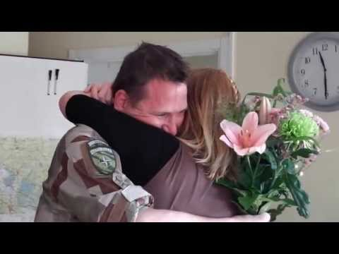 Surprise - Home from Afghanistan a week early!