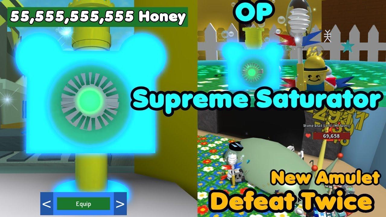 I Got The Supreme Saturator Defeat Stump Snail Twice Cost 55