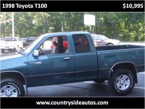 1998 toyota t100 used cars adamstown pa youtube. Black Bedroom Furniture Sets. Home Design Ideas