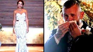 Bräutigam ist geschockt als Frau vor dem Gang zum Altar plötzlich stehen bleibt...