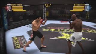 EA Sports MMA Online Match 1 - (Dan Henderson vs. King Mo)