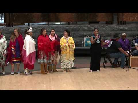 Living Earth Festival 2017 - Southern Ute Bear Dancers