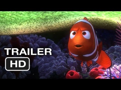 Finding Nemo 3D Official Trailer #1 (2012) Pixar Movie HD