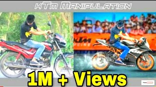 Picsart KTM Bike Cheng Manipulation edit on picsart editing tutorial