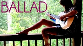 Ballad Guitar Backing Track (C/Am) | 60 bpm - MegaBackingTracks