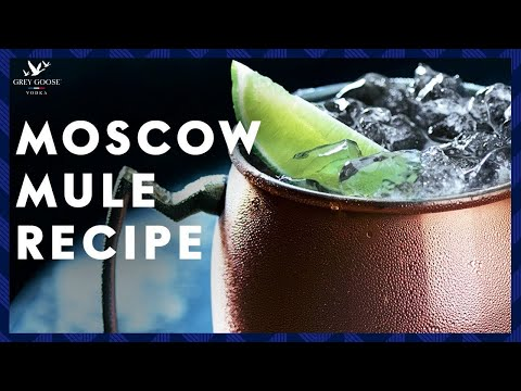 Moscow Mule Grey Goose Vodka Cocktail Youtube