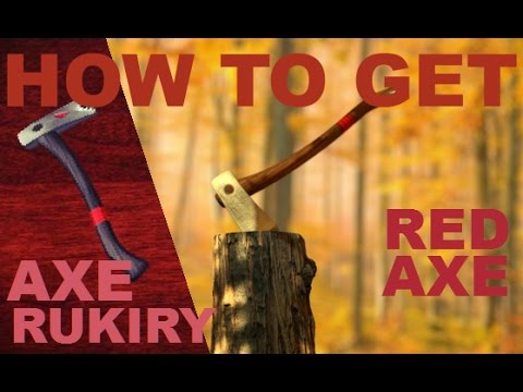 How to Get RED/RUKIRY Axe 2016 - Lumber Tycoon 2