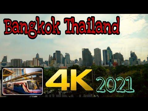 (4k)Bangkok Thailand ชมกรุงเทพมหานคร จากมุมรถไฟฟ้ากันครับ