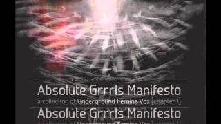 Absolute Grrrls Manifesto - The Mary