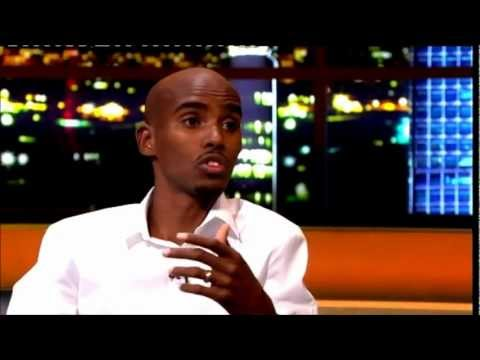 """Mo Farah"" The Jonathan Ross Show Series 3 Ep 03 1 September 2012 Part 2/5"