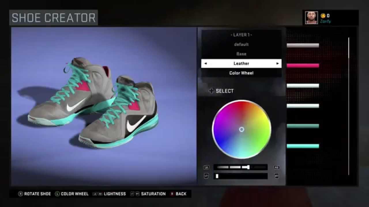 0eb84899781 NBA 2K16 Shoe Creator - Nike LeBron 9