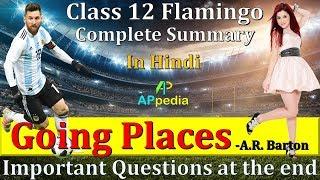 Going Places | CH-6 | 👇👇 Important Questions PDF in description | Class 12th | Flamingo