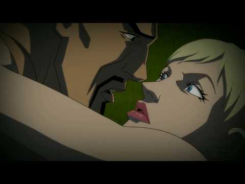 Harley Queen Makes Out With Deadshot -  Batman Assault On Arkham