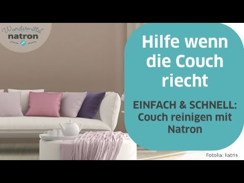 Couch reinigen mit Natron - YouTube