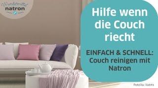 Couch reinigen mit Natron