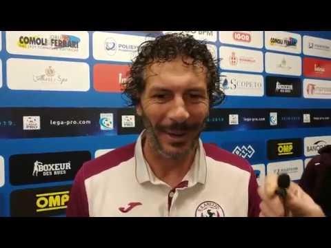Novara-Arezzo 2-2, intervista ad Alessandro Dal Canto