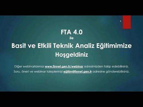 FTA 4 0 Ile Basit Ve Etkili Teknik Analiz Eğitimi