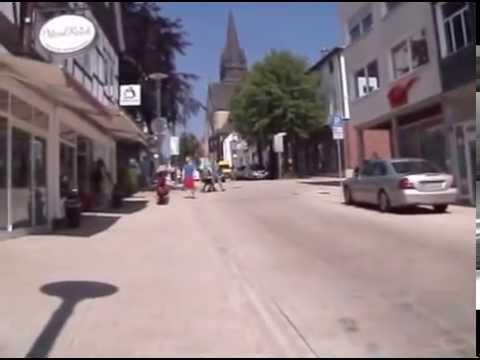 Spaziergang in Bad Driburg durch die Fußgängerzone - YouTube