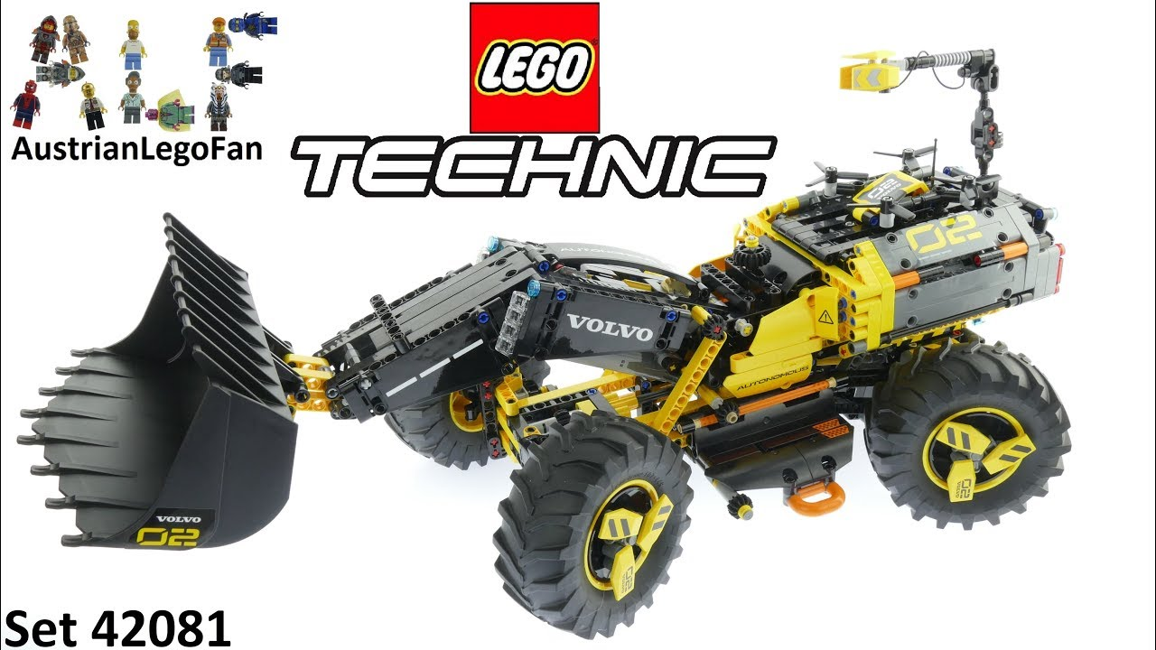 lego technic 42081 volvo concept wheel loader zeux lego. Black Bedroom Furniture Sets. Home Design Ideas