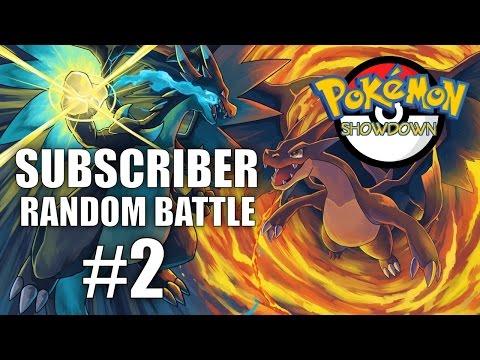 SUBSCRIBER RANDOM BATTLE #2 (TboltGames vs Poli tube) - Pokemon Showdown