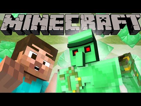 If Emerald Golems Were In Minecraft