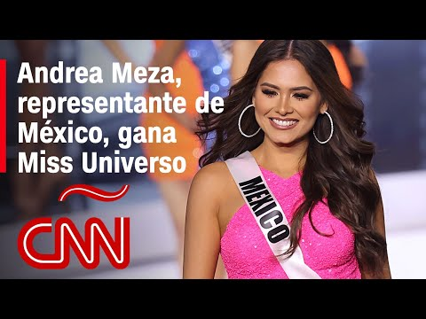 ¡Viva México!: La mexicana Andrea Meza gana el certamen Miss Universo 2021