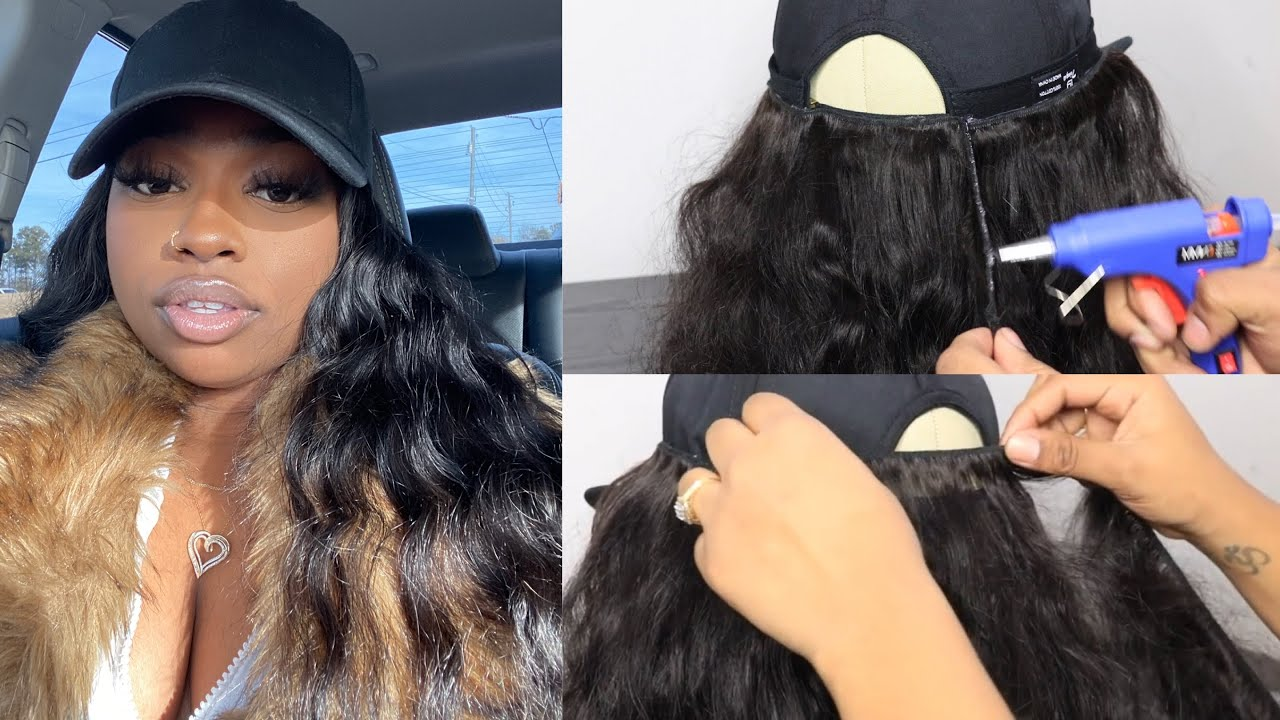 Download (EASY) HOW TO MAKE A WIG HAT WHEN YOU NEED A QUICK LOOK ON THE GO! Ft Tinashe Hair | Cashliani