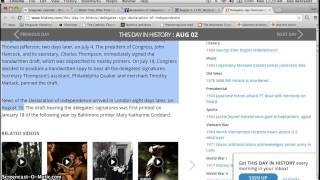 Timerider Lyle:Lynn? Swann Southpark:August 2nd:Gregorian Calendar Pt 1