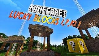 """Présentation du mod """"LUCKY BLOCKS 1.7.10""""! - Pleins de nouveautés ! [1.7.10][1.7.2]"""