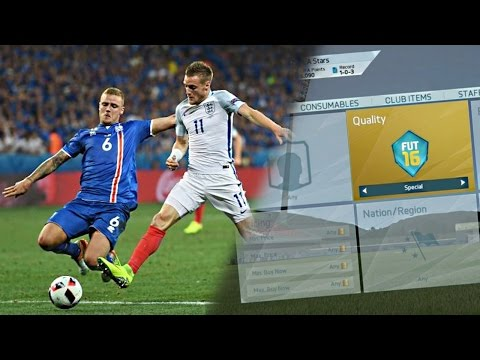 INSANE ICELAND vs ENGLAND 2-1 TRADING METHOD!! (FIFA 16 Ultimate Team)
