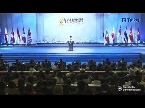 Pres  Duterte leads the opening ceremony of the 30th Association of Southeast Asian Nations Summit